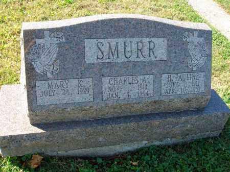 SMURR, H. PAULINE - Fairfield County, Ohio | H. PAULINE SMURR - Ohio Gravestone Photos