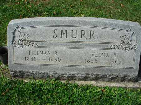 SMURR, TILLMAN R. - Fairfield County, Ohio | TILLMAN R. SMURR - Ohio Gravestone Photos