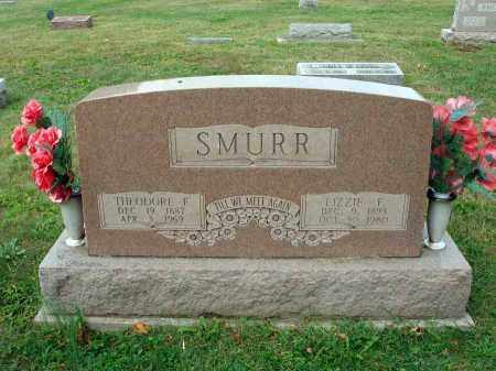 SMURR, THEODORE F. - Fairfield County, Ohio | THEODORE F. SMURR - Ohio Gravestone Photos