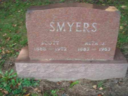 SMYERS, ALTA J. - Fairfield County, Ohio | ALTA J. SMYERS - Ohio Gravestone Photos
