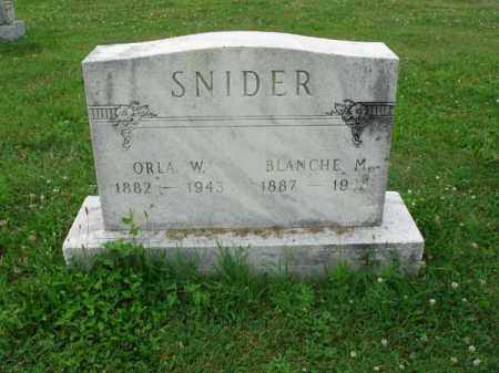 SNIDER, BLANCHE M. - Fairfield County, Ohio | BLANCHE M. SNIDER - Ohio Gravestone Photos