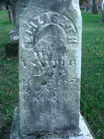 SNYDER, ELIZABETH - Fairfield County, Ohio   ELIZABETH SNYDER - Ohio Gravestone Photos