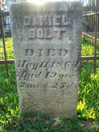 SOLT, DANIEL - Fairfield County, Ohio   DANIEL SOLT - Ohio Gravestone Photos