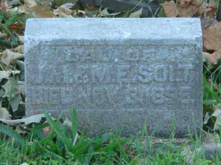 SOLT, INFANT DAU. - Fairfield County, Ohio | INFANT DAU. SOLT - Ohio Gravestone Photos