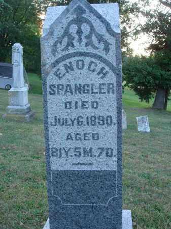 SPANGLER, ENOCH - Fairfield County, Ohio | ENOCH SPANGLER - Ohio Gravestone Photos