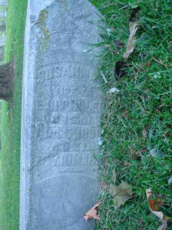 SPANGLER, SUSANNA - Fairfield County, Ohio | SUSANNA SPANGLER - Ohio Gravestone Photos
