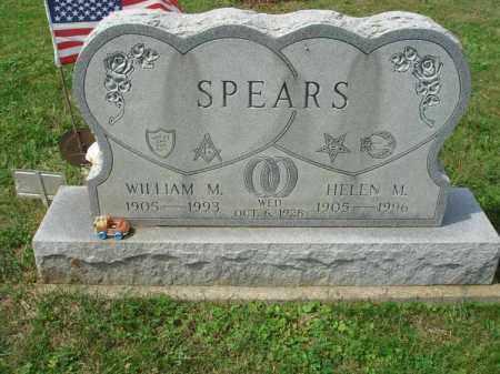 SPEARS, WILLIAM M. - Fairfield County, Ohio | WILLIAM M. SPEARS - Ohio Gravestone Photos