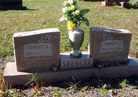 SPENCER, NANCY J. - Fairfield County, Ohio   NANCY J. SPENCER - Ohio Gravestone Photos