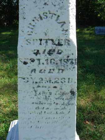 SPITLER, CHRISTIAN - Fairfield County, Ohio | CHRISTIAN SPITLER - Ohio Gravestone Photos