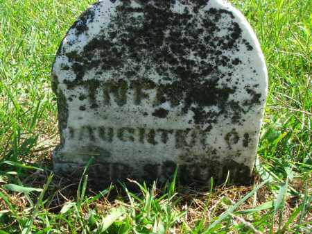 SPITLER, INFANT DAUGHTER - Fairfield County, Ohio | INFANT DAUGHTER SPITLER - Ohio Gravestone Photos