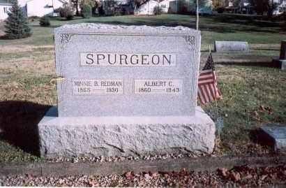 REDMAN SPURGEON, MINNIE B. - Fairfield County, Ohio | MINNIE B. REDMAN SPURGEON - Ohio Gravestone Photos