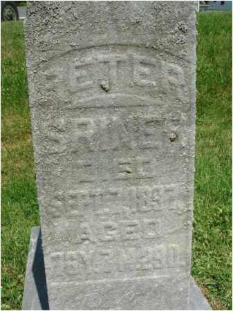 SRINER, PETER - Fairfield County, Ohio | PETER SRINER - Ohio Gravestone Photos