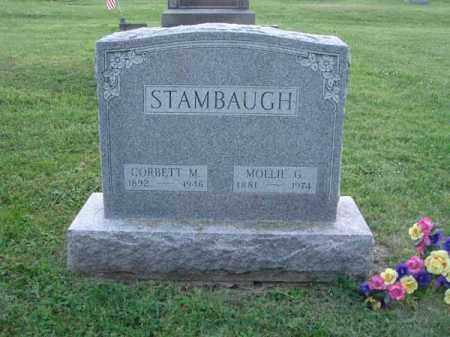 STAMBAUGH, MOLLIE G. - Fairfield County, Ohio | MOLLIE G. STAMBAUGH - Ohio Gravestone Photos