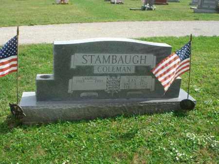 STAMBAUGH, GEORGE COLEMAN - Fairfield County, Ohio   GEORGE COLEMAN STAMBAUGH - Ohio Gravestone Photos