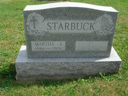 STARBUCK, MARTHA J. - Fairfield County, Ohio   MARTHA J. STARBUCK - Ohio Gravestone Photos