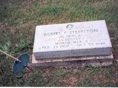 STEBELTON, RUSSEL F. - Fairfield County, Ohio | RUSSEL F. STEBELTON - Ohio Gravestone Photos