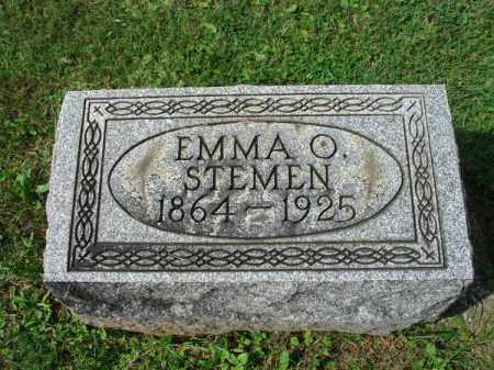 STEMEN, EMMA O. - Fairfield County, Ohio | EMMA O. STEMEN - Ohio Gravestone Photos