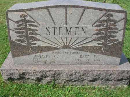 STEMEN, GUSTAVUS C. - Fairfield County, Ohio | GUSTAVUS C. STEMEN - Ohio Gravestone Photos