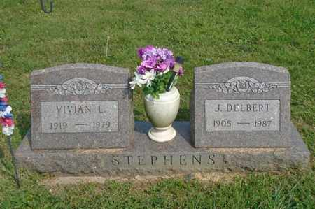STEPHENS, J. DELBERT - Fairfield County, Ohio | J. DELBERT STEPHENS - Ohio Gravestone Photos