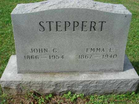 STEPPERT, JOHN G. - Fairfield County, Ohio   JOHN G. STEPPERT - Ohio Gravestone Photos