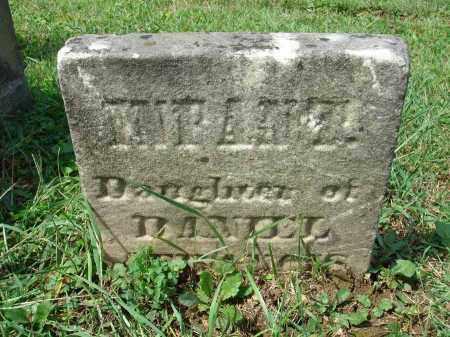 STIEGELER, INFANT DAUGHTER - Fairfield County, Ohio | INFANT DAUGHTER STIEGELER - Ohio Gravestone Photos