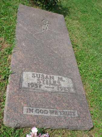 STILES, SUSAN M. - Fairfield County, Ohio | SUSAN M. STILES - Ohio Gravestone Photos