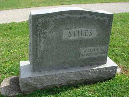 STILES, WILLIAM - Fairfield County, Ohio | WILLIAM STILES - Ohio Gravestone Photos