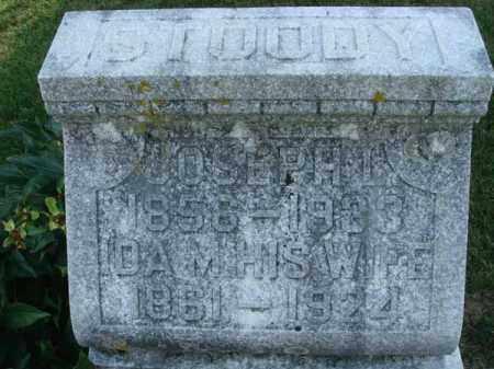 STOODY, JOSEPH L. - Fairfield County, Ohio | JOSEPH L. STOODY - Ohio Gravestone Photos