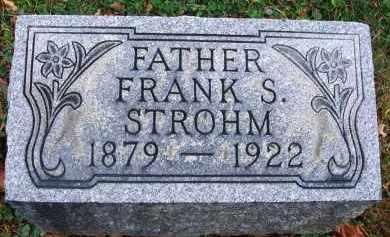 STROHM, FRANK S. - Fairfield County, Ohio   FRANK S. STROHM - Ohio Gravestone Photos