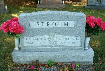 STROHM, GARLAND A. - Fairfield County, Ohio   GARLAND A. STROHM - Ohio Gravestone Photos