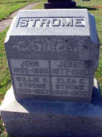 STROME, JESSIE - Fairfield County, Ohio | JESSIE STROME - Ohio Gravestone Photos