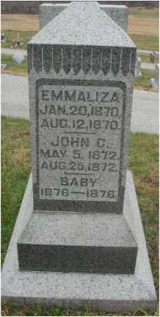 STRUCKMAN, EMMALIZA - Fairfield County, Ohio | EMMALIZA STRUCKMAN - Ohio Gravestone Photos