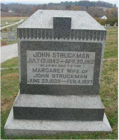 STRUCKMAN, MARGARET - Fairfield County, Ohio | MARGARET STRUCKMAN - Ohio Gravestone Photos