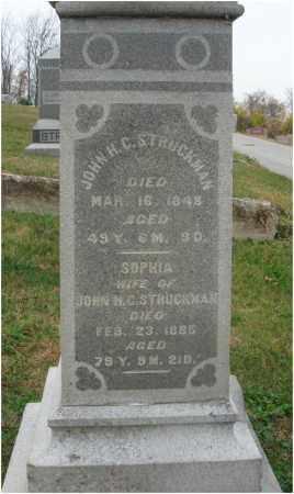 STRUCKMAN, SOPHIA - Fairfield County, Ohio | SOPHIA STRUCKMAN - Ohio Gravestone Photos