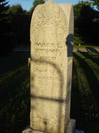 STUMP, MARY E. - Fairfield County, Ohio | MARY E. STUMP - Ohio Gravestone Photos