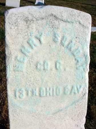 SUNDAY, HENRY - Fairfield County, Ohio | HENRY SUNDAY - Ohio Gravestone Photos