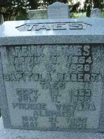 TAES, CAPITOLA ROBERTA - Fairfield County, Ohio | CAPITOLA ROBERTA TAES - Ohio Gravestone Photos