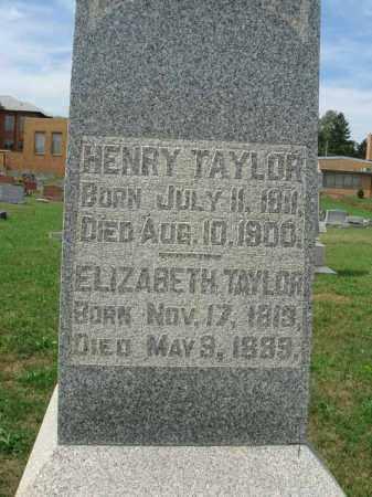 TAYLOR, ELIZABETH - Fairfield County, Ohio | ELIZABETH TAYLOR - Ohio Gravestone Photos