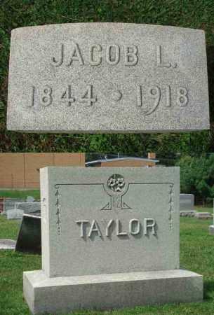 TAYLOR, JACOB L. - Fairfield County, Ohio | JACOB L. TAYLOR - Ohio Gravestone Photos