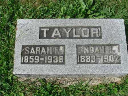 TAYLOR, NOAH H. - Fairfield County, Ohio | NOAH H. TAYLOR - Ohio Gravestone Photos