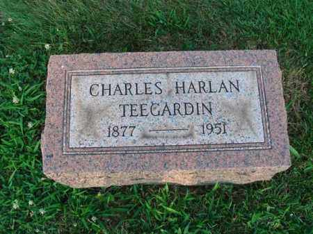 TEEGARDIN, CHARLES HARLAN - Fairfield County, Ohio | CHARLES HARLAN TEEGARDIN - Ohio Gravestone Photos