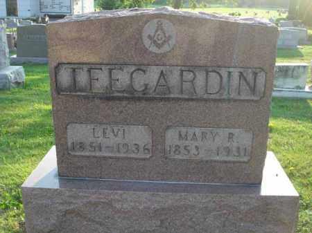 TEEGARDIN, MARY R. - Fairfield County, Ohio | MARY R. TEEGARDIN - Ohio Gravestone Photos