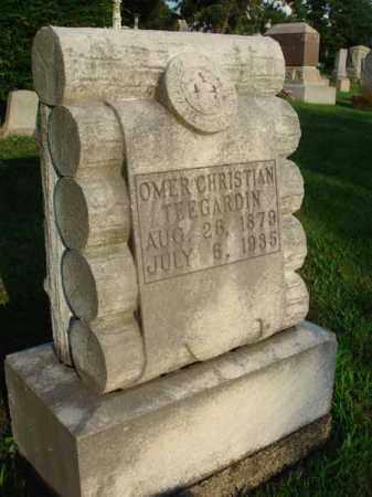 TEEGARDIN, OMER CHRISTIAN - Fairfield County, Ohio | OMER CHRISTIAN TEEGARDIN - Ohio Gravestone Photos