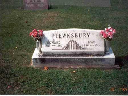 TEWKSBURY, MAE - Fairfield County, Ohio | MAE TEWKSBURY - Ohio Gravestone Photos