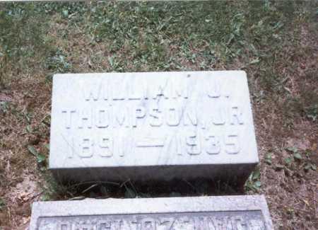 THOMPSON, JR., WILLIAM - Fairfield County, Ohio | WILLIAM THOMPSON, JR. - Ohio Gravestone Photos