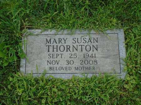 THORNTON, MARY SUSAN - Fairfield County, Ohio   MARY SUSAN THORNTON - Ohio Gravestone Photos