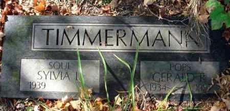 TIMMERMANN, GERALD R. - Fairfield County, Ohio   GERALD R. TIMMERMANN - Ohio Gravestone Photos