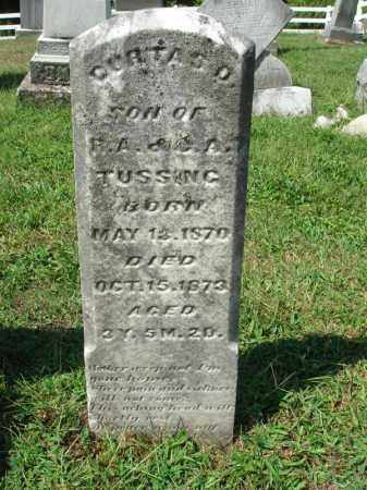 TUSSING, DURTAS D. - Fairfield County, Ohio   DURTAS D. TUSSING - Ohio Gravestone Photos