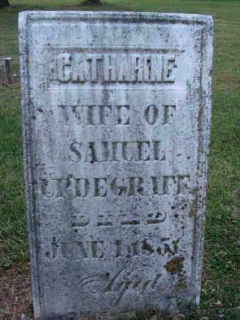 URDEGRAFF, CATHARINE - Fairfield County, Ohio   CATHARINE URDEGRAFF - Ohio Gravestone Photos