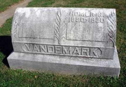 VANDEMARK, HOMER G. - Fairfield County, Ohio | HOMER G. VANDEMARK - Ohio Gravestone Photos